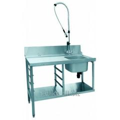 Стол предмоечный СПМП-6-3 (1200*671) для посудомоечной машины МПК-700К