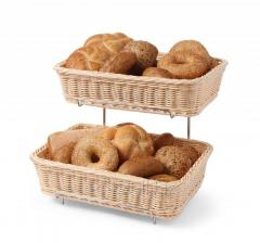Корзина для хлеба , прямоугольная, 360x270x(H)90 мм, компл 2 шт. 561201