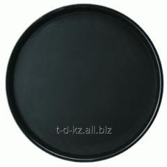 Поднос PT1100110 (d 28см)черн.