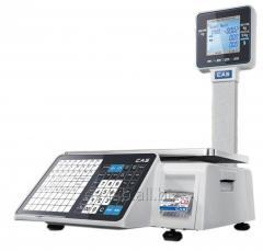 Торговые весы CL3000J с печатью этикеток (НОВИНКА)