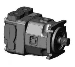 Axial and piston hydromotors of number of HPM7 and