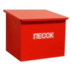 Ящик пожарный, Ящик для песка 0,12м.куб.