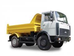 MAZ 555102-220 dump truck