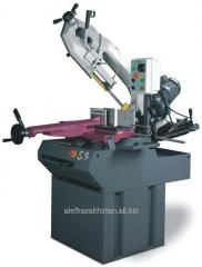 Band sawing machines for metal