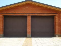 Gate are metal garage