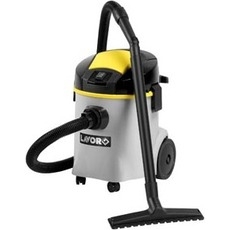 The household vacuum cleaner for dry and damp