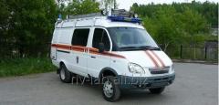 Аварийно-спасательный автомобиль ГАЗ 27057