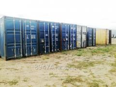 Containers sea 40 - foot, the city of Kostanay.