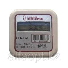 Счетчик газа бытовой СГБ-1.6Т