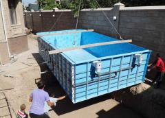 Polypropylene pools, Pools from polypropylene