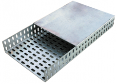 Trays are cable perforated