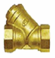 Фильтр сетчатый Y-образный, латунь