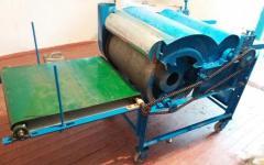 Универсальный чесальный станок 30 кг в час для