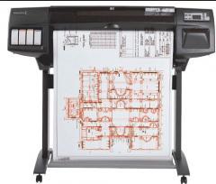 Printers large-format DesignJet 1050C Plus