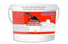 Армирующая шпаклевка DecoPlast AAA+ Профессионал бочка 90 кг.
