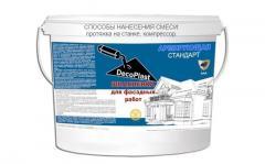 Армирующая шпаклевка DecoPlast AAA+ Стандарт мешок 60 кг.