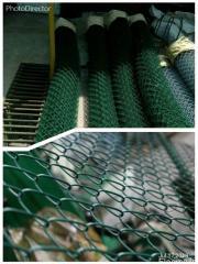 Сетка Рабица зеленая с полимерным покрытием