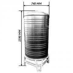Емкость для воды 0,5 м3 вертикаль