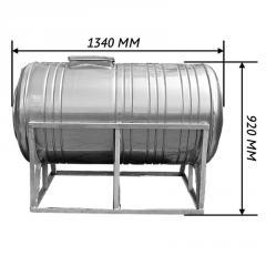 Емкость для воды 0,5 м3 горизонталь