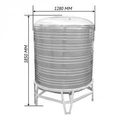 Емкость для воды 1,5 м3 вертикаль