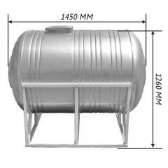 Емкость для воды 1,0 м3 горизонтальная