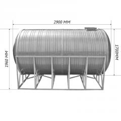 Емкость двойная для воды 6,0 м3 горизонтальная