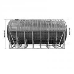 Емкость для воды тройная горизонтальная 9,0 м3
