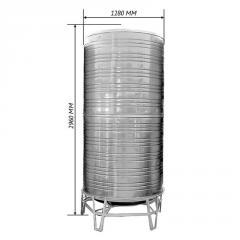 Емкость для воды двойная вертикальная 3,0 м3