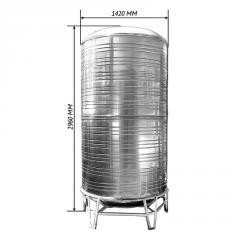 Емкость для воды двойная вертикальная 4,0 м3