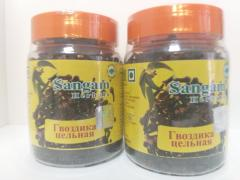 Гвоздика цельная , 60 гр,  Сангам