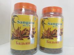 Специи Бадьян,  45 гр,  Сангам