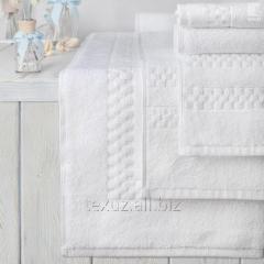 Люксовые полотенца 50х90см с орнаментом Checkerboard