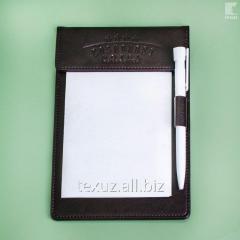Планшет для официанта кожаный