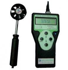 Измеритель скорости и температуры воздушных