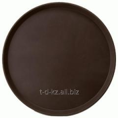 Поднос PT1600 167 (d 40,5см) коричневый
