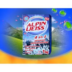 Laundry detergents without Alpin Weiss phosphates