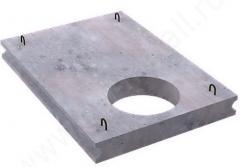 Плита накрывная для лотков и каналов с отверстием
