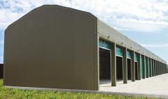 Каркасные здания, тенто-мобильные конструкции