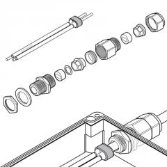 Подсоединительный комплект C25-100-METAL-NP