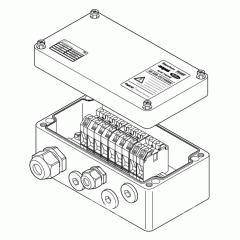 Проходная коробка (4xM25 + 1xM32) JB-MB-25/16MM2
