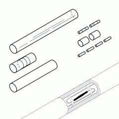 Ремкомплект для сращивания греющего кабеля S-19
