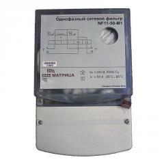 Фильтр сетевой Матрица однофазный NF 11-50