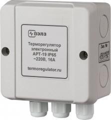 Терморегулятор АРТ-19 IP65 с датчиком KTY-81-110 2