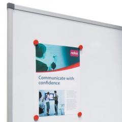 Лаковая магнитно-маркерная доска Nobo Classic с алюминиевой рамой 1800x1200
