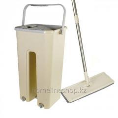 Швабра Easy Mop с ведром с самоочищением
