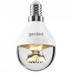 Светодиодная лампа Geniled E14 G45 8Вт линза