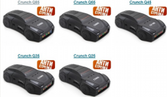 Crunch Q radar detectors