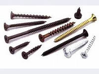 Self-tapping screws just for decoration