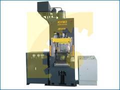 Пресс гидравлический ДЕ2430 усилие 100 тн