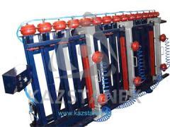 Пресс для щита и бруса «Эльбрус» 1П-100 и 1П